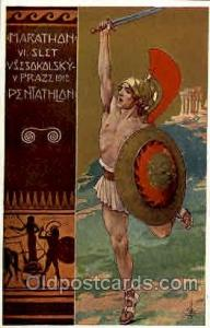 Stockholm 1912, Olympic Postcard Postcards
