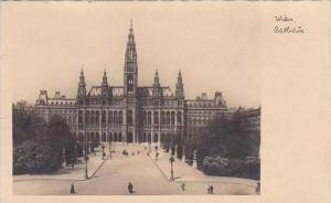 Austria Vienna Rathaus Real Photo