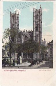 Canada Quebec Montreal Notre Dame Church