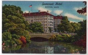 Somerset Hotel, Boston MA