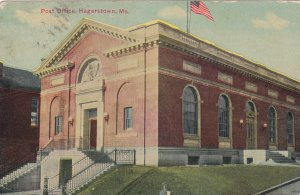 HAGERSTOWN, Maryland, PU-1920; Post Office