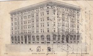 CHARLOTTE, North Carolina, PU-1906; Hotel Selwyn