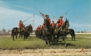 Royal Canadian Mounted Police, Musical Ride, Ottawa, Ontario, Canada, 1940-1960s