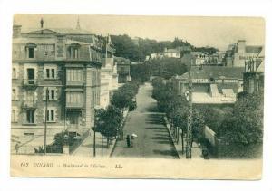 Boulevard De l´Ecluse, Showing A Hair Dresser Place, Dinard (Ille-et-Vilaine...