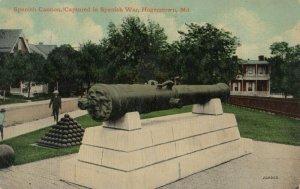 CUMBERLAND , Maryland , 1908 ; Spanish Cannon