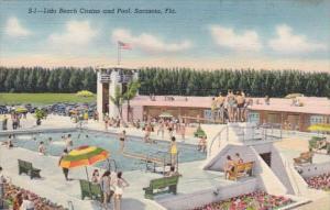 Florida Sarasota Lido Beach Casino and Pool Curteich