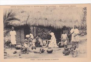 Africa Togo Soin des malades a domicile
