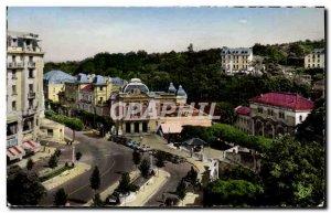 Postcard Chatelguyon Modern Square Theater Brosson casino and spa establishment