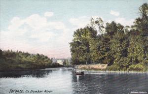 Small Boat On Humber River, Toronto, Ontario, Canada, 00-10´s