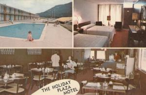 JELLICO , Tennessee , 50-60s ; Holiday Plaza Motel, Swimming Pool