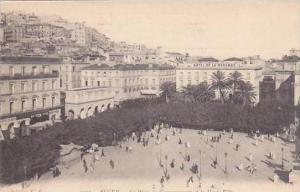 Algeria Alger La Place et la Houte-Ville