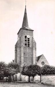 France Chatenay-sur-Seine (S.-et-M.) L'Eglise 1956
