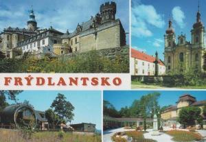 Frydlantsko Frydlant Czech Republic Vintage Rare Photo Postcard