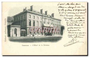 Grenoble Old Postcard L & # 39hotel Division