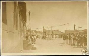 namibia d.s.w.a., TSUMEB, Street, Procession 1930s RPPC