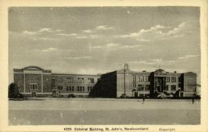 canada, St. JOHN'S, Newfoundland, Colonial Building (1950s) Postcard