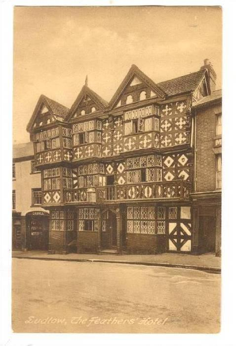RP; The Feathers' Hotel, Ludlow, Shropshire, England, United Kingdom, 10-20s