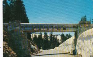 Washington Mount Rainier National Park Sign Summit-Chinook Pass