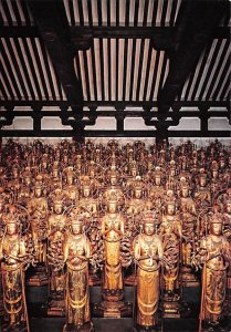 Buddha at SanjUSA ngendo Hall Kyoto Japan Unused