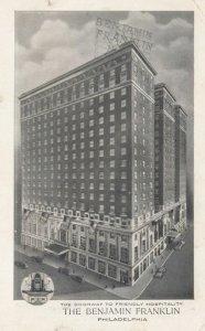PHILADELPHIA, Pennsylvania, 1953; The Benjamin Franklin, Chestnut at Ninth St...
