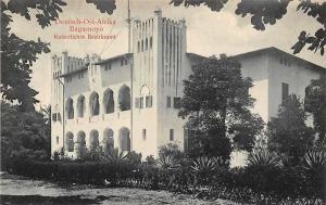 German East Africa Tanzania Bagamoyo, Kaiserliches Bezirksamt Postcard