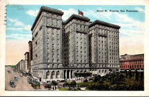 California San Francisco Hotel St Francis 1926