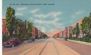 W. 5th Avenue, Apartment House District, Gary, Indiana, 30-40s