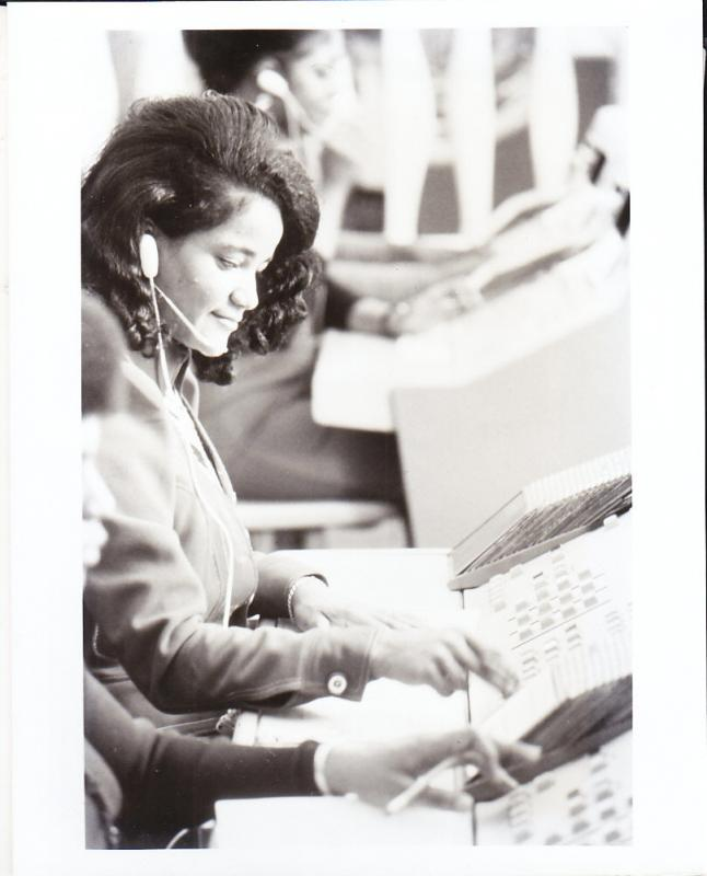 AT&T Photo Center Ad Photograph - Traffic Operator