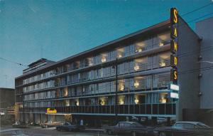 Sanmds Motor / Hotel , VANCOUVER , B.C., Canada , 50-60s