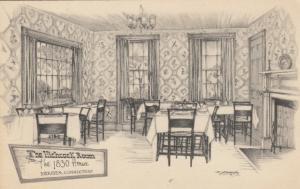 MERIDEN , Connecticut, 1900-10s ; The Hitcock Room, The 1830 House
