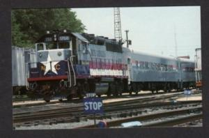 NC Amtrak Piedmont RR Train CHARLOTTE NORTH CAROLINA PC