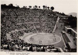 RP: EPIDAUROS , Greece , 1950-70 ; Theatre