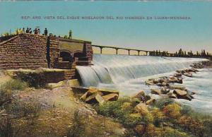 Vista Del Dique Nivelador Del Rio Mendoza En Lujan-Mendoza, Argentina, 1900-1...