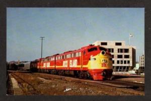 IL Chicago Rock Island Pacific RR Train JOLIET ILLINOIS