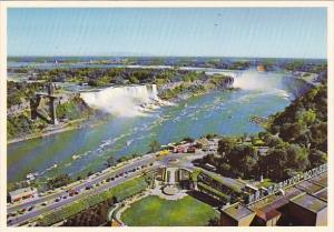 Canada Aerial View Niagara Falls Ontario