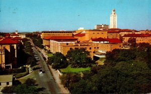 Texas Austin University Of Texas Seen From Stadium 1976