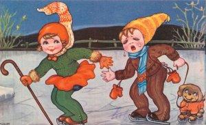 Funny Fantasy Illustrated Kids Postcard Lot of 8   01.18