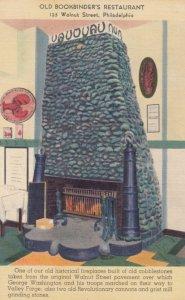 PHILADELPHIA, Pennsylvania, 30-40s; Old Bookbinder's Restaurant, 125 Walnut St.
