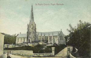 bermuda, PAGET, St. Paul's Church (1910s) (1)