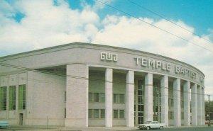 DETROIT, Michigan , 1950-60s ; Temple Baptist Church, Grand River Avenue