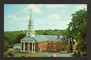 RI Central Baptist Church Elm st Westerly Rhode Island Postcard PC