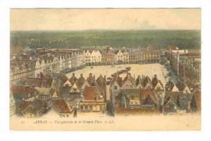 ARRAS , France, PU-1924; Grande Place