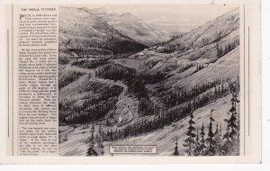 RP: Spiral Railroad Tunnels , B.C. , Canada , 1949