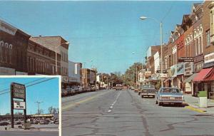 4379 IN  Kendallville 1960's  Downtown´s Main Street and Publix Village...