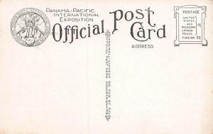 Half Dome, Court of the 4 Seasons, Panama-Pacific Expo, 1915 Postcard, Unused