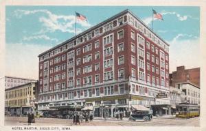Iowa Sioux City Hotel Martin Curteich
