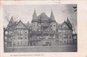 North Carolina Raleigh The Baptist University For Women 1907