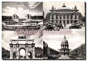 Postcard Modern Marvels Paris and the Palais de Chaillot Bolleau Azema and th...