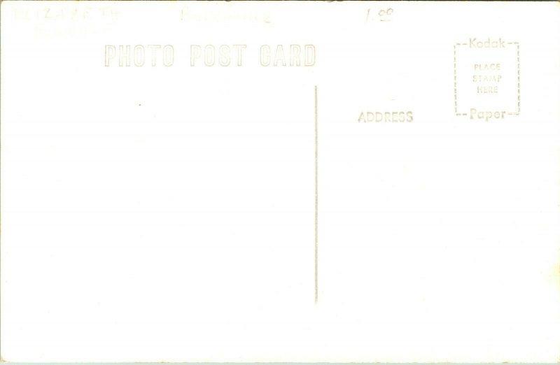 Vtg Postcard RPPC Brickerville PA - Elizabeth Furnace