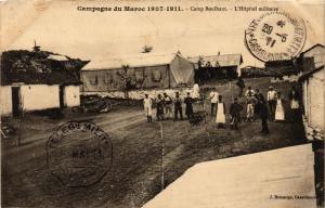 CPA Camp-Boulhaut L'Hopital militaire MAROC (689320)